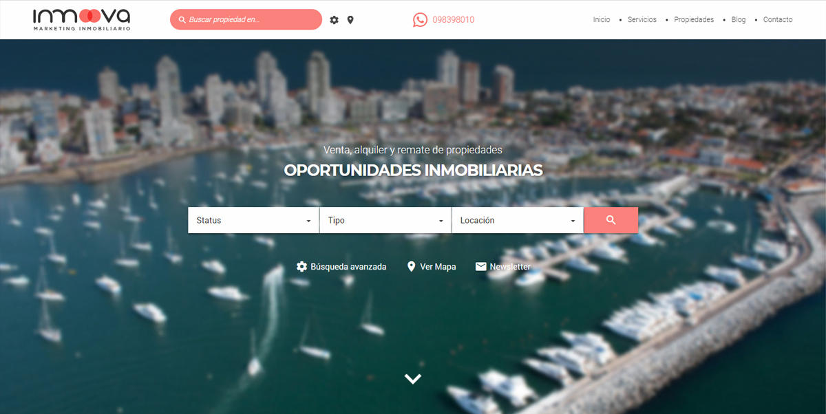 Inmoova - Marketing Inmobiliario - mobile