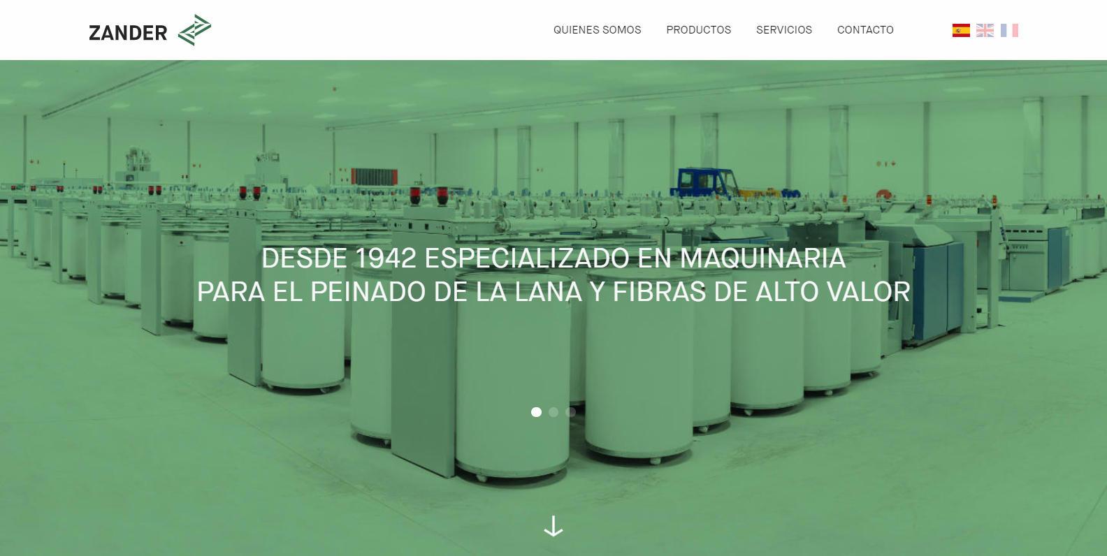 ZANDER - maquinaria para la industria textil